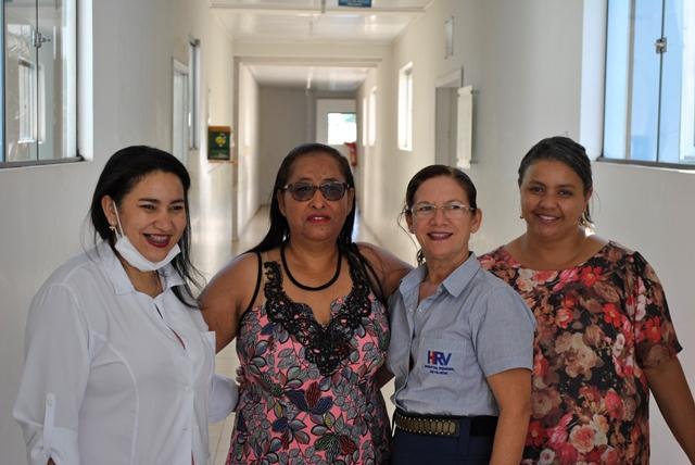 Vice-presidente do Sindsul visita Hospital Regional e parabeniza enfermeiros pelo dia Internacional