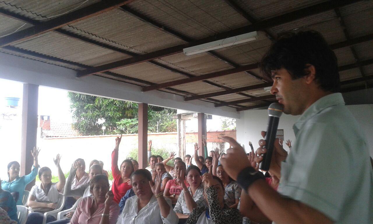 INSALUBRIDADE: Em Assembleia, Sindsul decide entrar com ação judicial contra a prefeitura de Vilhena