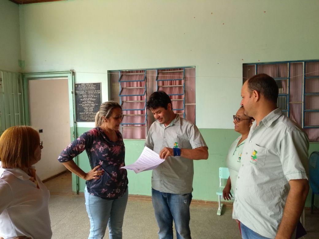 Após Justiça conceder liminar Sindsul dá início à visitação em escolas do município