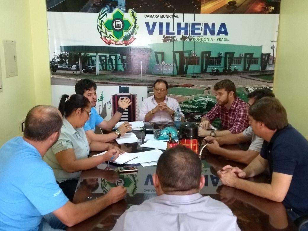 Sindsul se reúne com vereadores e cobra atenção às Leis Orçamentárias Anual (LOA) do município
