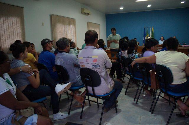 Sindsul visita locais de trabalho e realiza Assembleia de prestação de contas em Pimenteiras