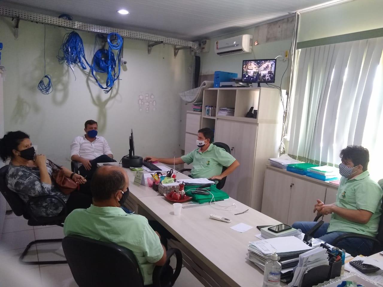 Sindicato, vereador e IPMV debatem sobre aumento na Alíquota de Contribuição dos servidores públicos de Vilhena